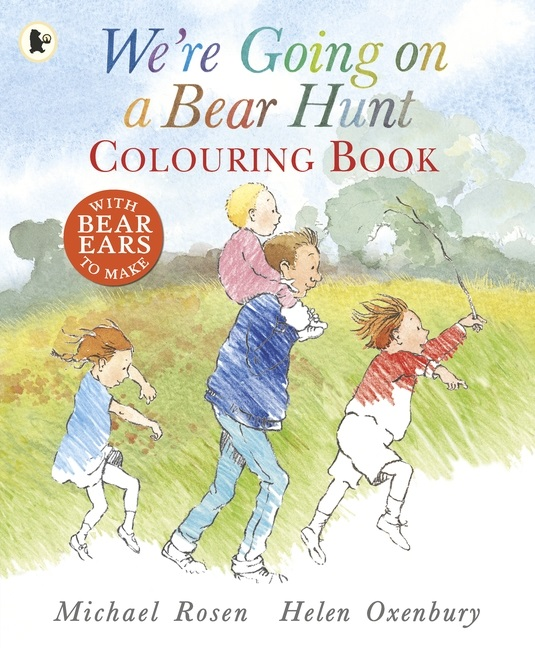 We 39 re going on a bear hunt books for Going on a bear hunt coloring pages