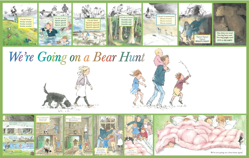 BH0010 Bear Hunt Story Frieze 2 800