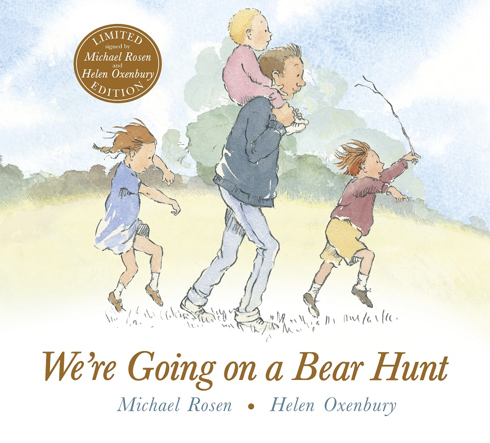 We're Going on a Bear Hunt signed limited edition