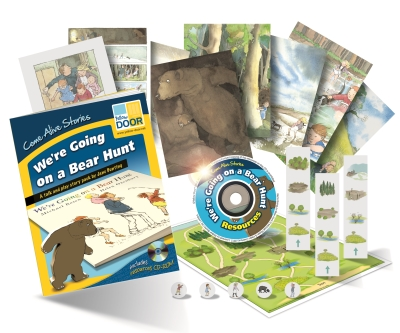 Picture of Yellow Door Educational Story Pack including games and CD-Rom