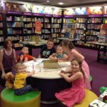 Waterstones Birmingham hold a We're Going on a Bear Hunt party!