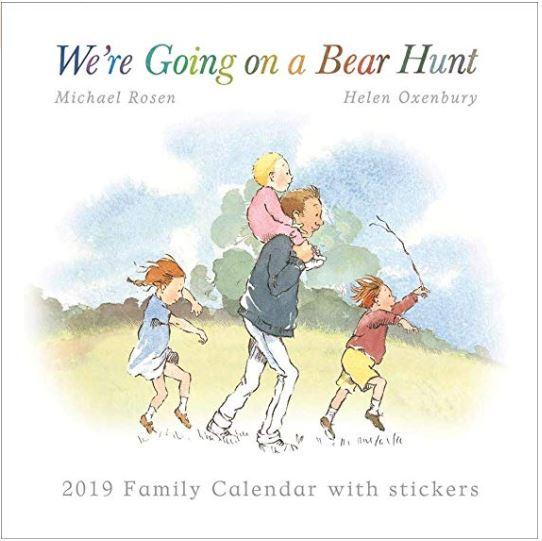 We're Going on a Bear Hunt Family Organiser Wall Calendar 2019