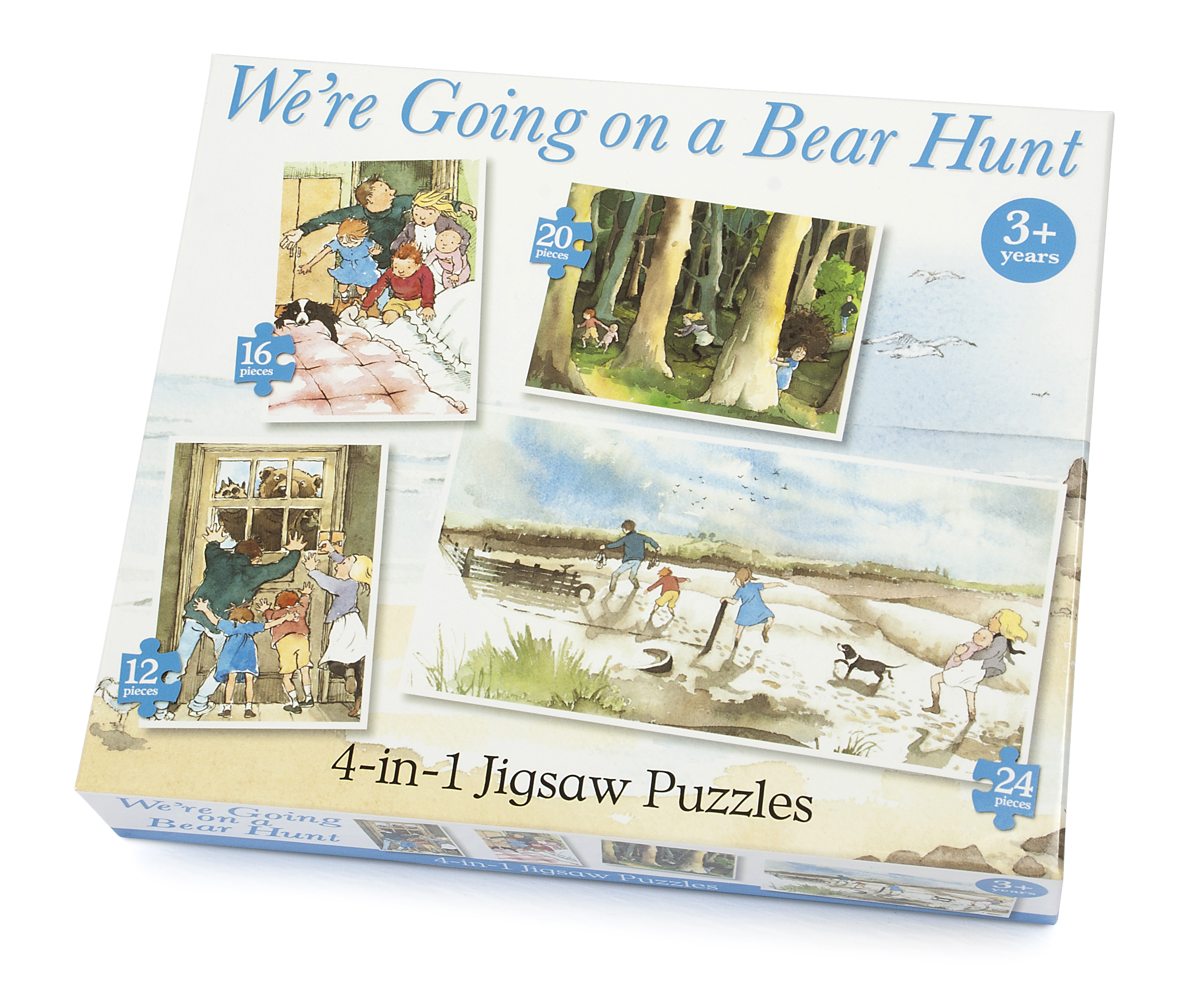 We're Going on a Bear Hunt 4-in-1 Puzzle