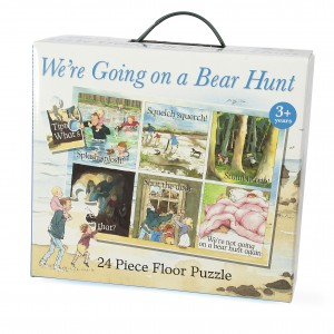 We're Going on a Bear Hunt Floor Puzzle