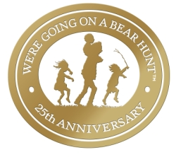 We're Going on a Bear Hunt Anniversary Logo