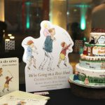We're Going on a Bear Hunt Cake, and standee