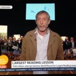 Michael Rosen interviewed on Good Morning Britain