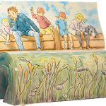 The Books About Town BookBench for We're Going on a Bear Hunt