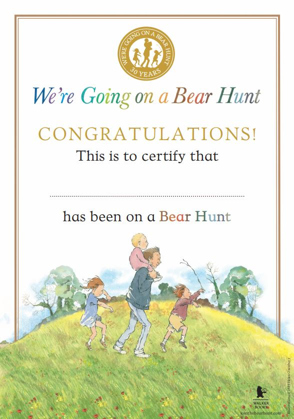 Activity Sheets We 39 re Going on a Bear Hunt